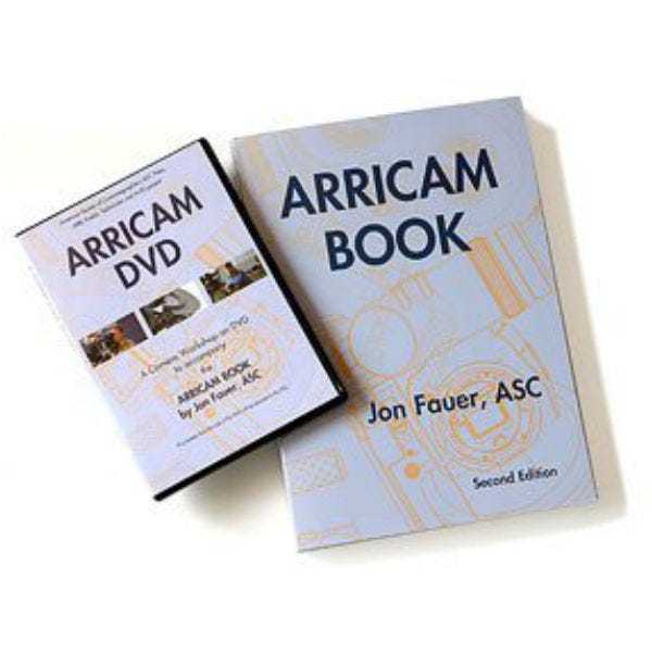 Arricam Book by Jon Fauer - 2nd Edition + DVD
