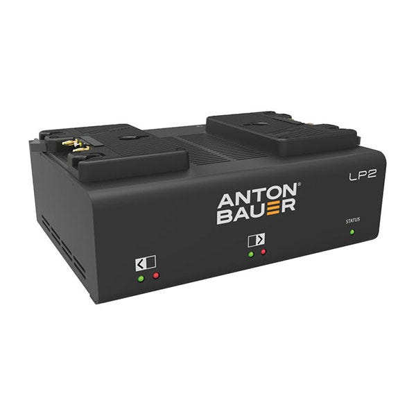 Anton Bauer Dual Gold-Mount Battery Charger