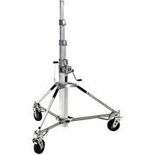 Avenger Long John Stand w/ Braked Foam-Filled Wheels - 18.7'