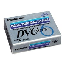 Panasonic AY-DVMCLA Digital Video Head Cleaner Tape for Mini-DV