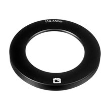 Bright Tangerine Threaded Adapter Ring for Clamp-On Matte Box (77 to 114mm)