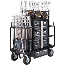 Backstage Electrician Cart w/ Carefree Tires