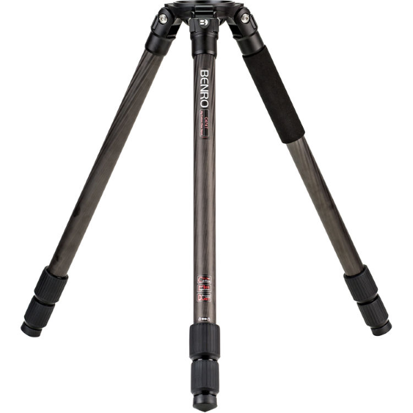 Benro C474T Dual Stage 100mm Bowl Carbon Fiber Tripod