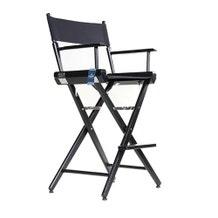 Custom Back Print - Film Craft Studio Tall Director's Chair - Black
