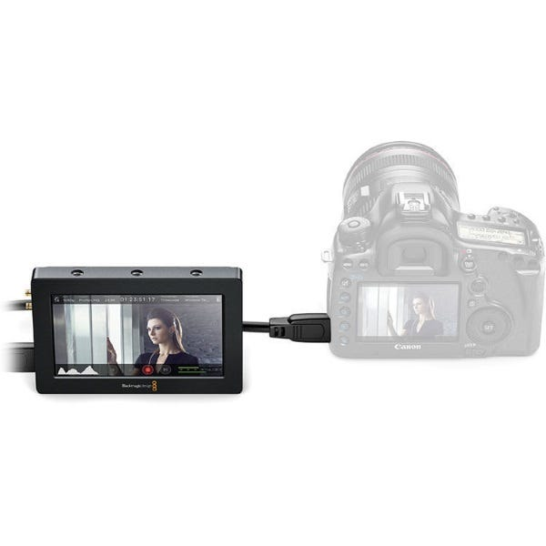 "Blackmagic Design Video Assist 5"" HDMI/6G-SDI Recorder Monitor"