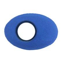 Bluestar Fleece Eyepiece Cushions - Oval XL (Blue)