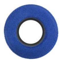 Bluestar Fleece Eyepiece Cushions - Round XL (Blue)