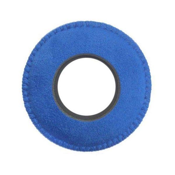 Bluestar Ultrasuede Eyepiece Cushions - Round Large (Blue)