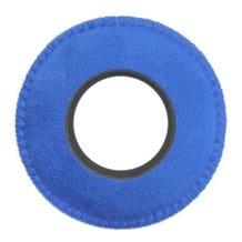 Bluestar Ultrasuede Eyepiece Cushions - Round XL (Blue)