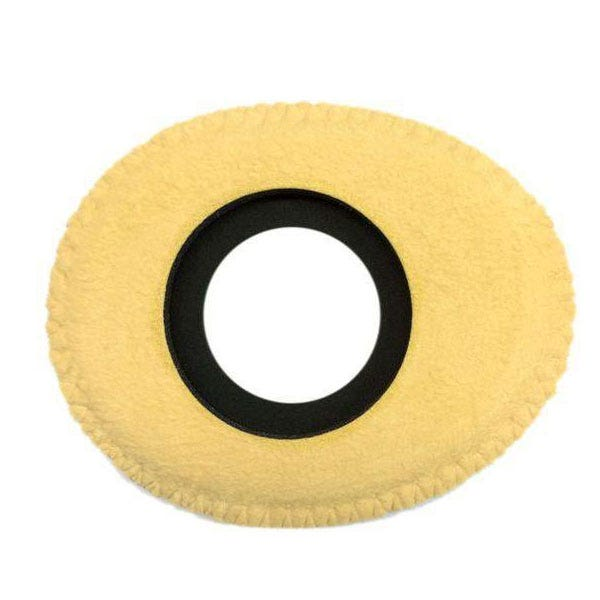 Bluestar Chamois Leather Eyepiece Cushions - Oval Small (Natural)