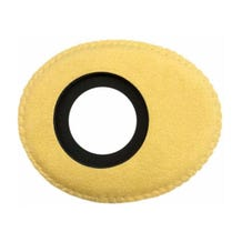 Bluestar Ultrasuede Eyepiece Cushions - Oval Large (Natural)