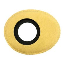 Bluestar Ultrasuede Eyepiece Cushions - Oval Small (Natural)