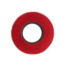 Bluestar Fleece Eyepiece Cushions - Round Small (Red)