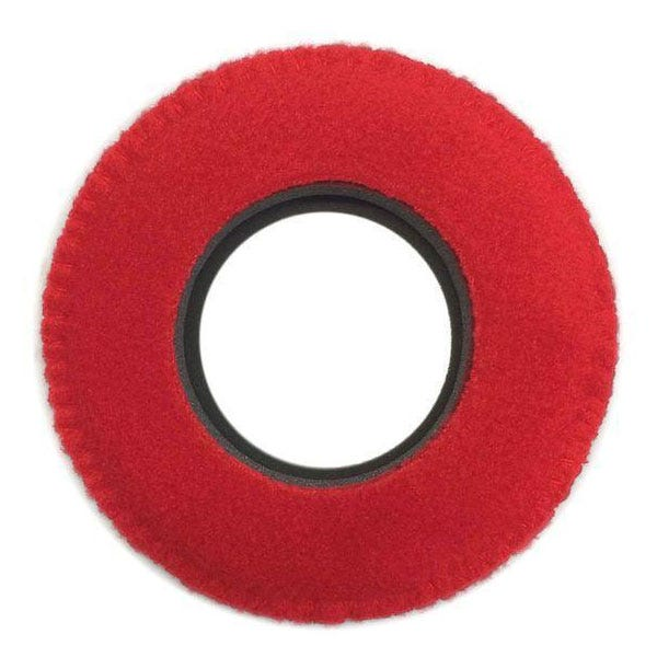 Bluestar Fleece Eyepiece Cushions - Round XL (Red)