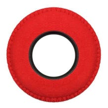 Bluestar Ultrasuede Eyepiece Cushions - Round XL (Red)