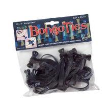 BongoTies Cable Ties - Obsidian, 10 Pack