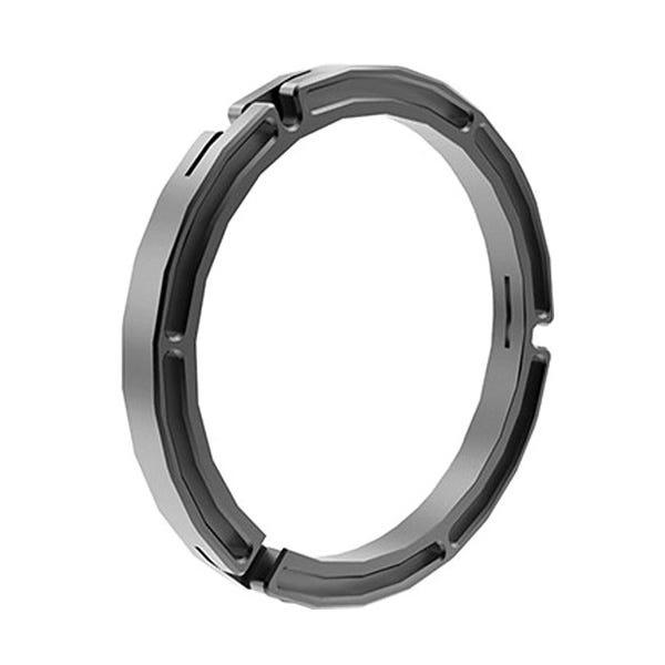 """Bright Tangerine 150 to 125mm Clamp-On Ring for Viv & Viv 5"""" Matte Box"""