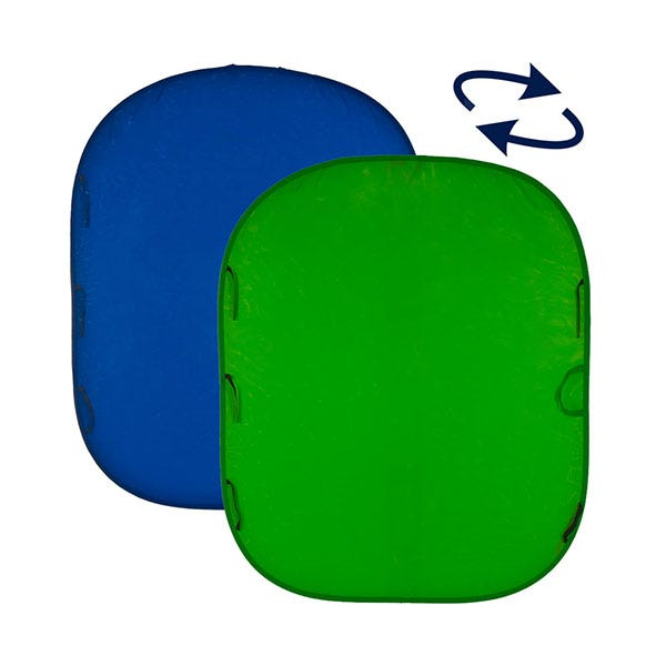 Lastolite 5' x 6' Chroma Key Reversible Blue/Green Screen Collapsible