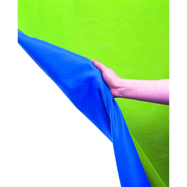 Lastolite 10' x 24' Chroma Key Reversible Blue/Green Screen Curtain