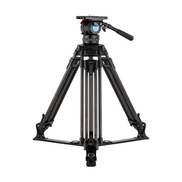 Benro BVX Carbon Fiber Video Tripod Kit with BVX16H Head