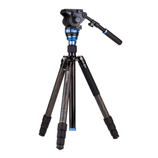 Benro Aero 7 Travel Video Tripod - Carbon Fiber