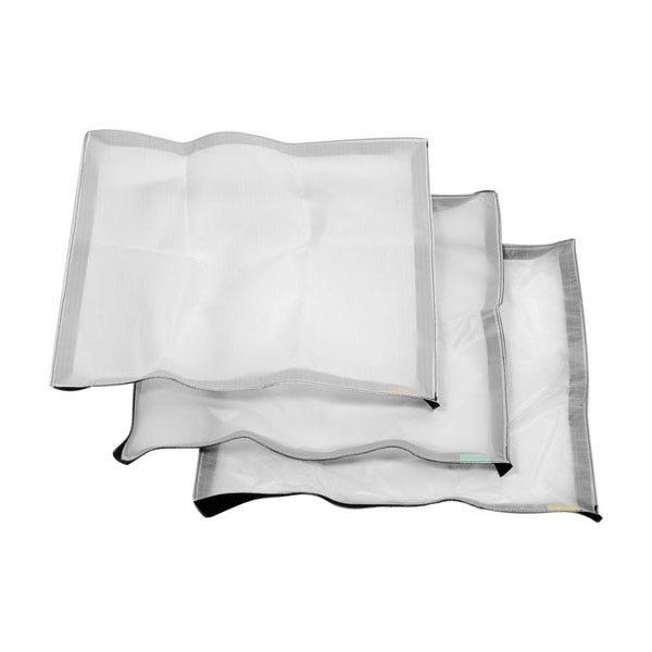 Litepanels Cloth Set for Astra 1x1 & Hilio D12/T12 Snapbag Softbox