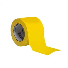 "ProTapes 4"" Cable-Path Zone Tape - Yellow"