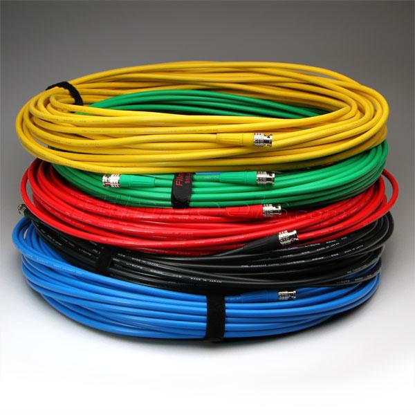 Canare 100' Digital Flex BNC Cable - Green