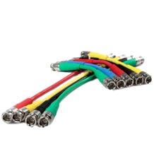 """Canare 6"""" Digital Flex SDI BNC Cable (Various Colors)"""