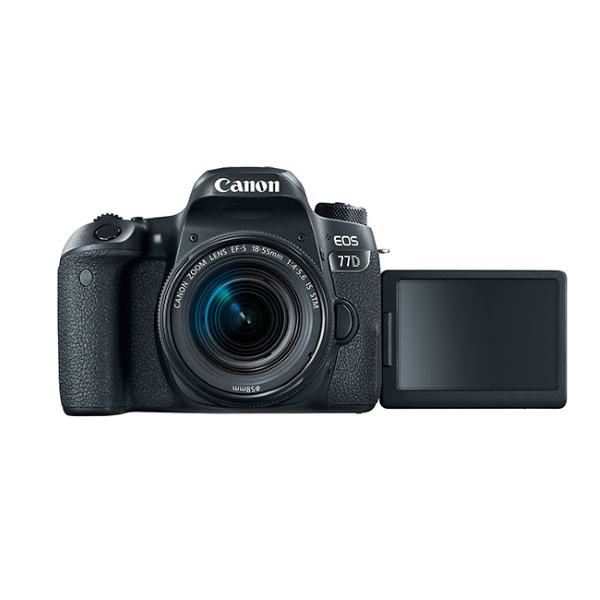 Canon EOS 77D DSLR Camera with 18-55mm IS STM Lens