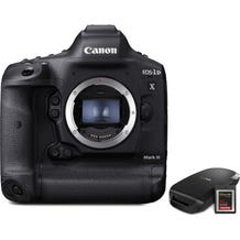 Canon EOS-1D X Mark III DSLR Camera with CFexpress Card and Reader Bundle