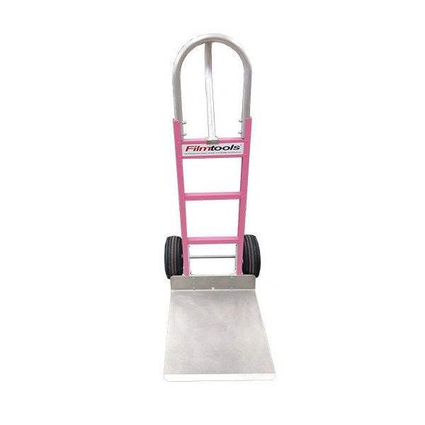 "Filmtools Proboscis Hand Cart / Dolly with 20"" Nose Plate with Pink Frame"
