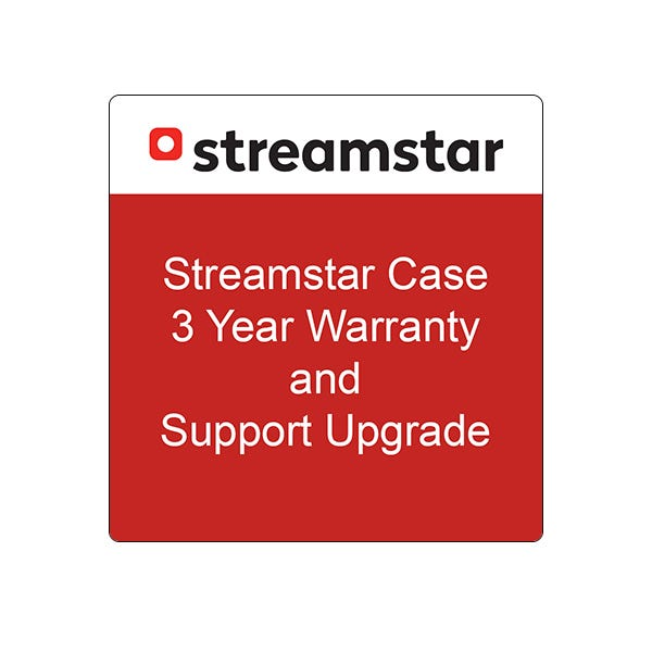 Streamstar CASE 3 Year Warranty and Support Upgrade