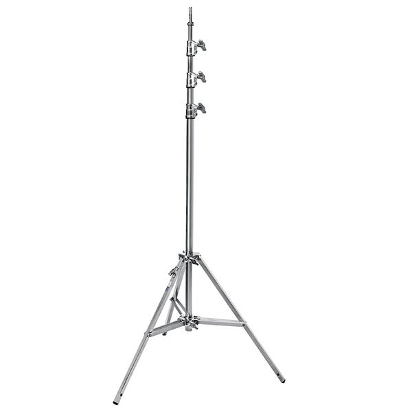 Avenger 14.7' Baby Steel Stand 45 with Leveling Leg - Triple Riser