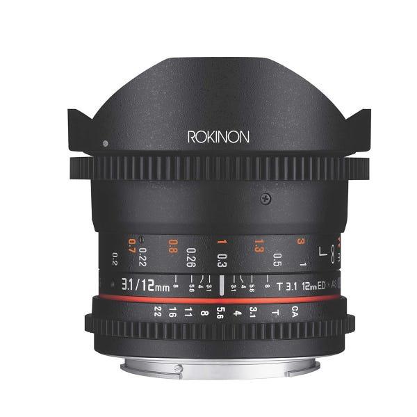 Rokinon 12mm T3.1 Full Frame Cine DS Lens