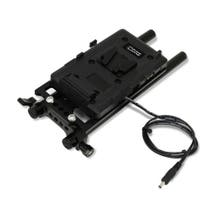 Core SWX Battery Plate with Cheese Plate & 15mm LWS Rod Clamp for Canon C100/C100 MK2 (V-Mount)