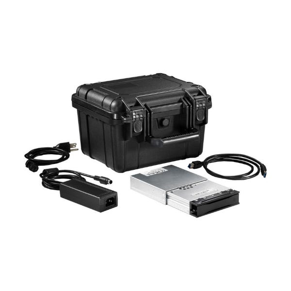 CRU DataPort Digital Cinema Kit 2 DX115 Carrier/Case with 500GB HDD
