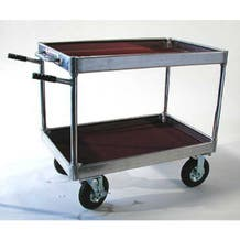 "Yaeger and Sons 26"" x 39.75"" Junior Collapsible Case Cart - 8"" Wheels"