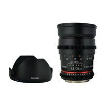 Rokinon 35mm T1.5 Cine AS UMC Lens for Micro Four Thirds Mount