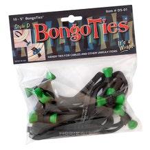 BongoTies Cable Ties - Tree Frog, 10 Pack