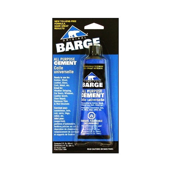 Barge All Purpose Cement - 2 Ounces (Ground Only)