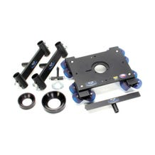 Dana Dolly Portable Dolly System w/ Original Track Ends - 100 & 150mm Bowl Adapters