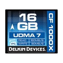 Delkin Devices 16GB CompactFlash 1000x UDMA Memory Card