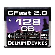 Delkin Devices 128GB Cinema CFast 2.0 Memory Card