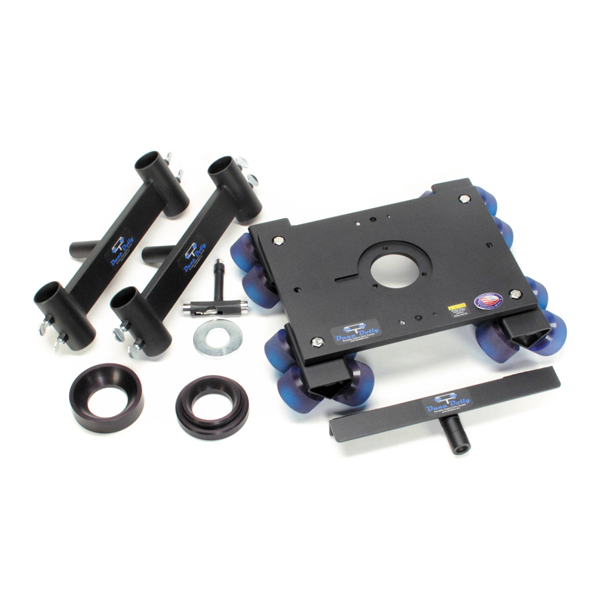 Dana Dolly Portable Dolly System w/ Original Track Ends - 75mm & 100mm Bowl Adapters