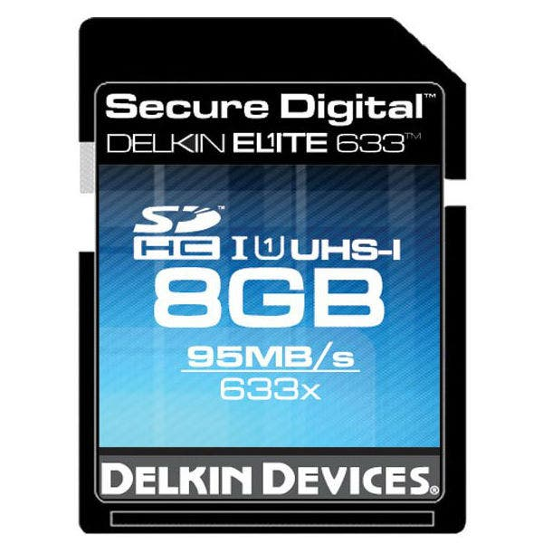 Delkin Devices Elite UHS-I SDHC Memory Card (Various)