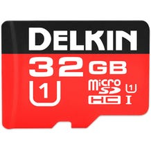 Delkin 32GB 500X microSDHC UHS-I Memory Card