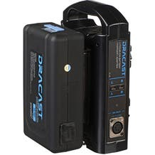 Dracast 1x 90A Gold Mount Battery w/ 1x Charger Kit