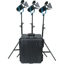 Dracast BoltRay 400 Plus LED DayLight 3-Light Kit