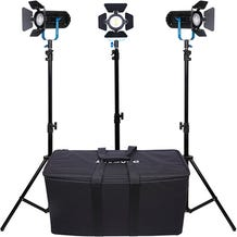 Dracast BOLTRAY Plus 400 LED 3-Light KIT DayLight
